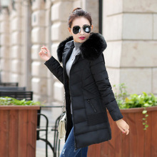 2016 New Arrival None Long Solid Zipper Slim Standard Full Cotton Broadcloth Down & Parkas