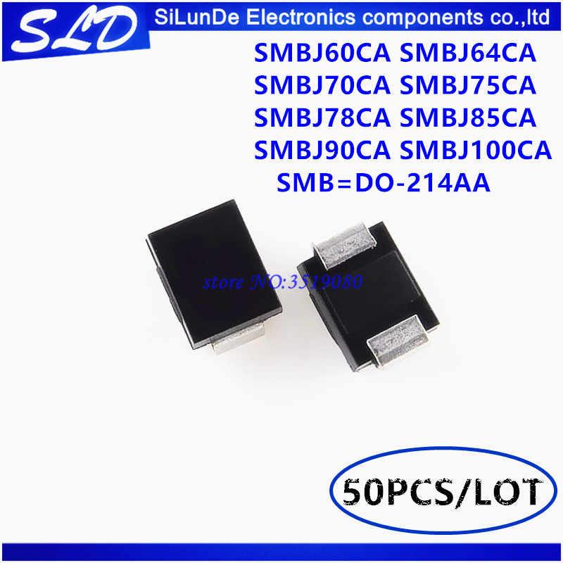 SMAJ6.0A+ 6V DO-214AC Pack of 500 400W UNIDIR TVS DIODE SMAJ6.0A+