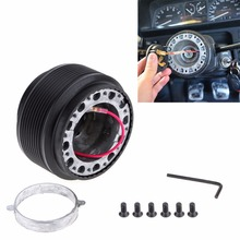 где купить High Quality Aluminum and Plastic Car Steering Wheel Boss Kit Racing Hub Adapter Suitable for TOYOTA по лучшей цене