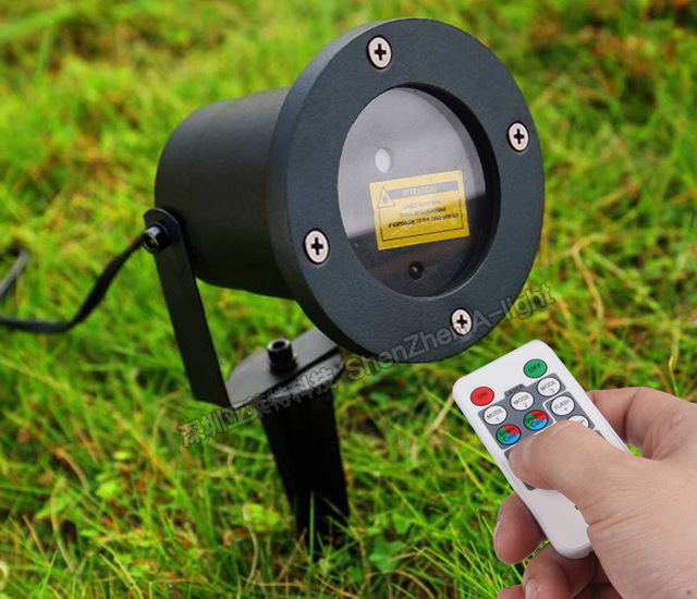 Remote Control Outdoor Stars Led Garden Lights Ip65 Waterproof Green Laser 30mw Red 100mw