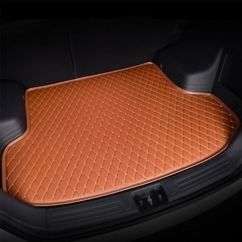 Personnalisé tapis de coffre de voiture pour BMW tous les modèles f30 f10 e46 x5 x1 x3 e36 e90 e39 e70 x5 X4 X6 auto accessoires coiffure