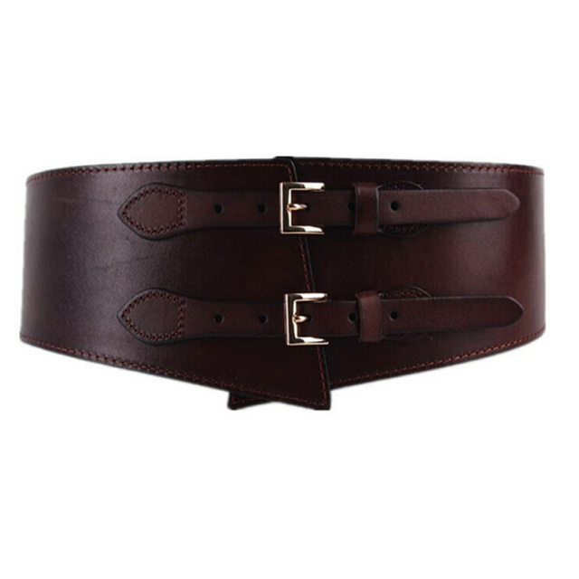 New Design Of Pin Buckle Leather Belt For Women