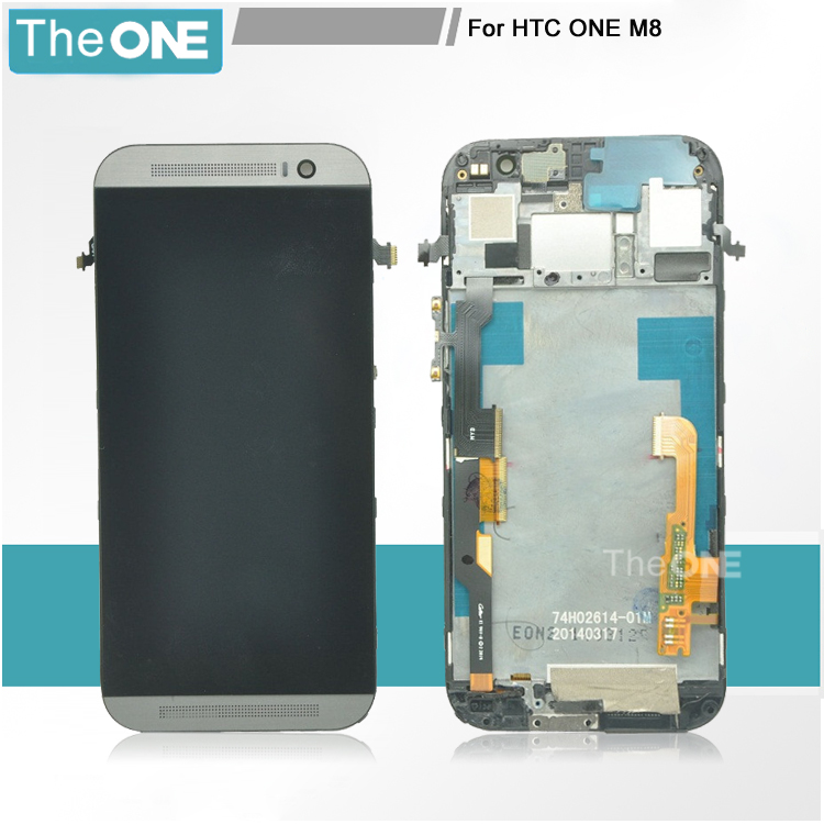 Silver/Gold/Grey/White lcd for HTC one M8 lcd display and touch screen digitizer with frame, free shipping !!! бра lumion deodat 3471 1w