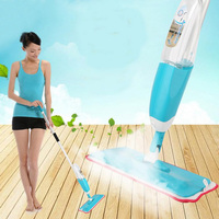 New Arrived Spray Mop Floor Kitchen Cleaning Gadgets Mop Cloth Tools Metal Rod Floor Mop Shipments