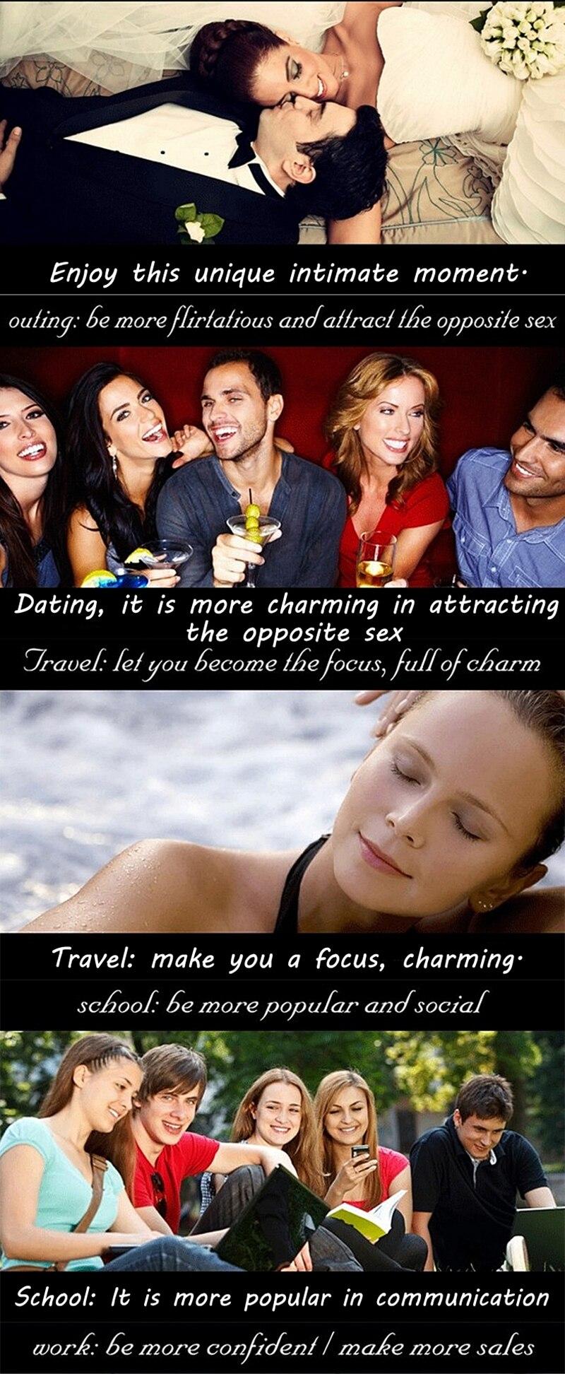 Original Male Pheromone Aphrodisiac Attractant Flirt Men Sexual Products  Exciter Women Intim Antiperspirant 5ml
