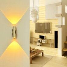 2W 6W Led Wall Light Aluminum Sconce Modern Spot Lamp AC85-265V For Bedroom Living Room KTV Bar Indoor Lighting JQ