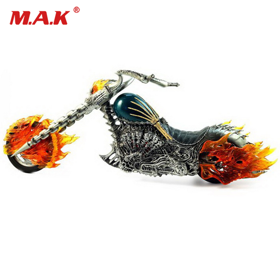 1/6 Ghost Rider Flame Fire motorcycle Red flame version Motorcycle Vehicles Model Diecast Moto Kids Toys Collection Gifts ghost at the fire station 6