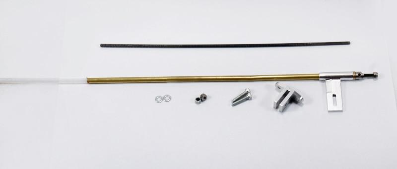Free Shipping Drive Shaft /Flexible Shaft for RC Boat Models Length 295mm 3.0/3.17mm shaft hole цена