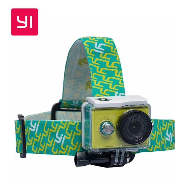 Original YI Adjustable Head Strap for Xiaomi Yi 4K Action Camera SJCAM SJ4000/SJ5000/SJ6000/Gopro Hands-free Outdoor Accessories
