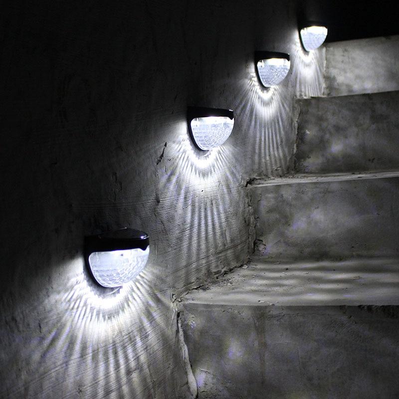 Licht & Beleuchtung Solarlampen Aus Dem Ausland Importiert Solar Powered 6 Led Licht Sensor Ip65 Wasserdichte Wand Lampe Beleuchtung Solar Wand Licht Straße Garten Pathway Led Treppen Deck Licht Noch Nicht VulgäR