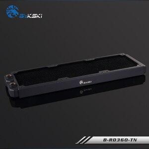 Image 3 - BYKSKI échangeur de chaleur, radiateur dordinateur de refroidissement à eau, liquide pour ventilateurs 12cm, 360mm, épaisseur 28mm, B RD360 TN mm