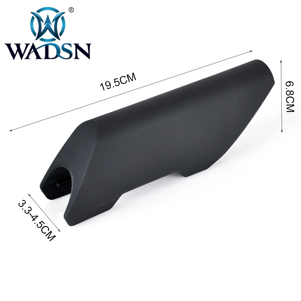 Image 4 - WADSN Airsoft Cheek Riser High Style  For Use on Non AR/M4 Application Military Hunting Accessories CTR CHEEK RISER HIGH WEX053-in Hunting Gun Accessories from Sports & Entertainment