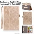 Tab3 10 Плюс/бизнес X70 Tab-X103f Новый Откидная Крышка Для Lenovo Tab 2 Tab2 A10-70F А10-30 x30 x30f A10-70c tablet Case + Pen + OTG