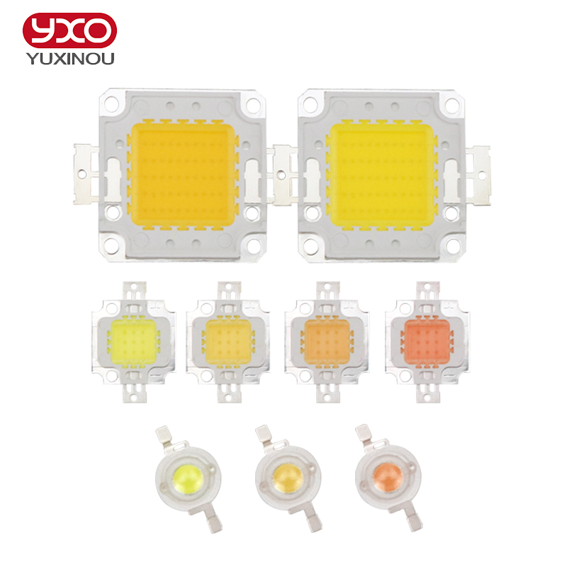 High Power LED Chip 1W 3W 5W 10W 20W 30W 50W 100W COB LED Natural White 4000K - 4500K for DIY LED Floodlight Spotlight