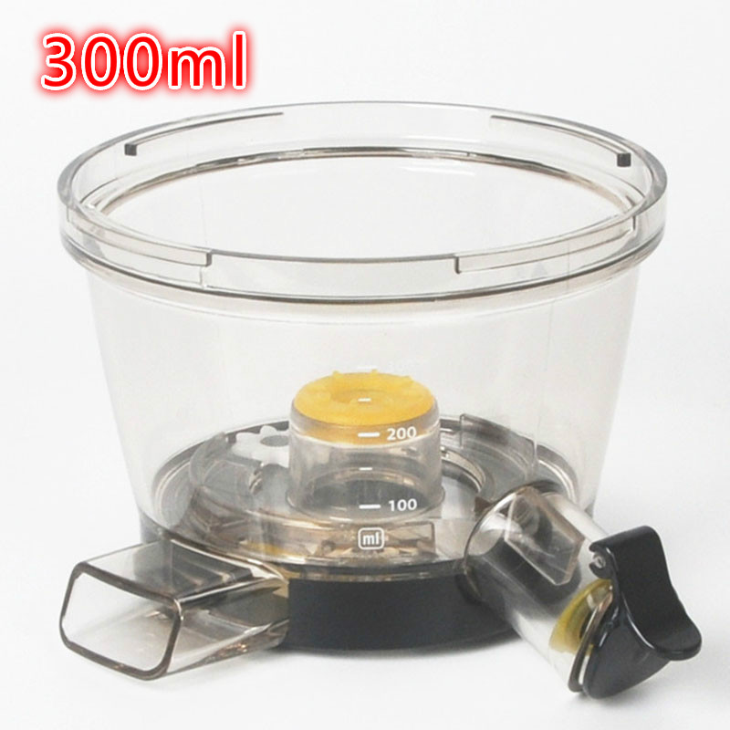 Hurom juice machine accessories 300ml grinding cup for HU-100PLUS HU-200PLUS 300PLUS HU-400PLUS HU-500PLUS HU-700PLUS hu-500dg hu