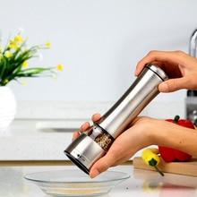Edelstahl Manuelle Salz Gewürz Pfeffer Corn Pea Bean Kaffeemühle Mühle muller cutter für kochen küche gadget 1 stücke 2016