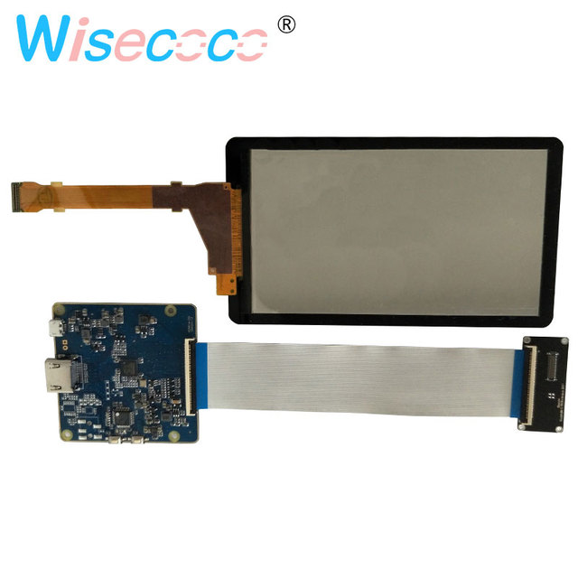 5.5 Inch 2K LCD Screen Display LS055R1SX04 HDMI to MIPI Controller Board SLA 3D Printer With Glass Protector Removed Backlight