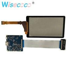 شاشة عرض LCD 5.5 بوصة 2K LS055R1SX04 HDMI إلى MIPI لوحة تحكم SLA طابعة ثلاثية الأبعاد مع واقٍ زجاجي مُزال بإضاءة خلفية