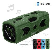 New Bluetooth Speaker IPX4 Waterproof Outdoor 3600mah Power Bank Bass Portable Speaker With Mic For IPhone