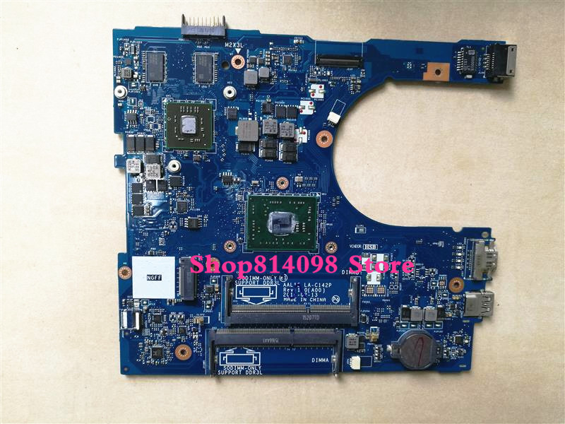 KEFU CN-0PDGN4 PDGN4 FOR DELL inspiron 5455 5555 laptop motherboard AAL12 LA-C14