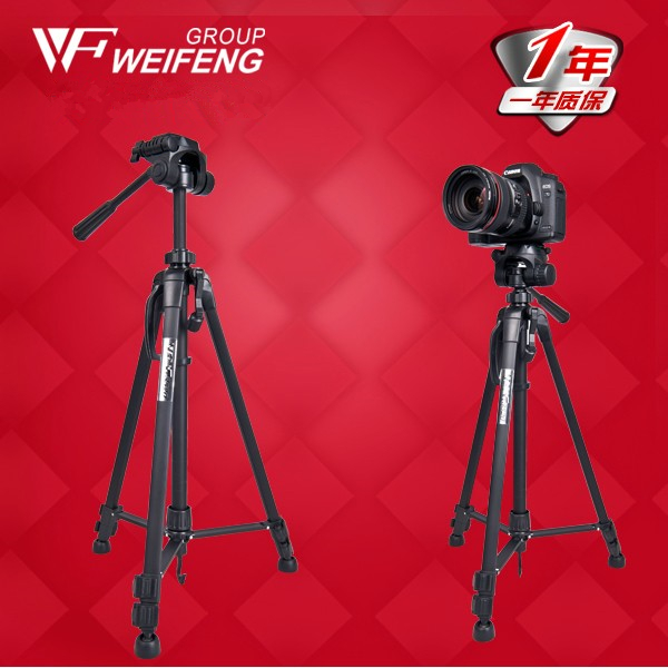 ФОТО CD50    Weifeng wt3520 aluminum alloy light video tripod digital camera photography tripod card machine monopod