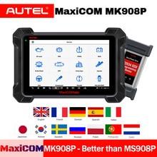 Autel MaxiCOM MK908P Diagnostic Tool obd2 Scanner Automotive J2534 ECU Coding Programming Code Reader MS908P Maxisys Pro autel maxisys pro ms908p diagnostic tool ecu programmer j2534 reprogramming box bluetooth wifi full system obd obd2 car scanner