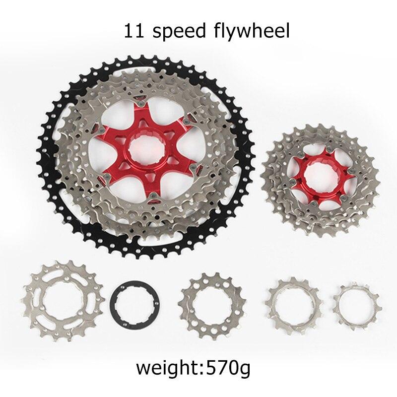 Dernière roue libre rotative roue libre 11 vitesses vtt vélo Cassette roues libres vélo