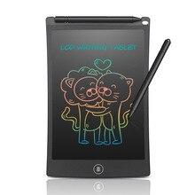 Newyes mini 8.5 Polegada tablet eletrônico colorido, para escrita digital, desenho, bloco de caligrafia para gravação de bebê/registo de horário