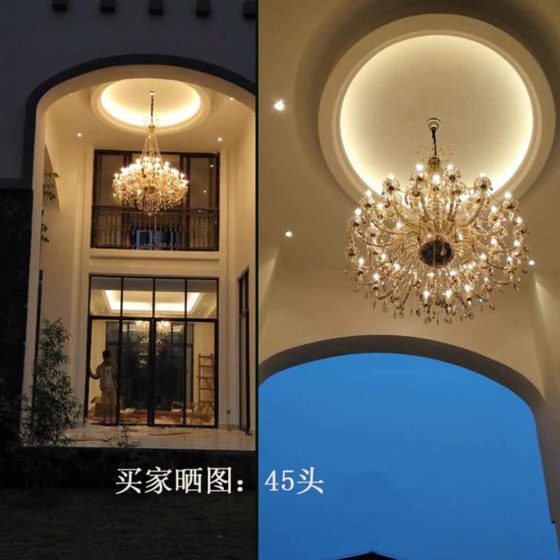 Müasir çilçıraq işıqlandırma Qonaq otağı Otel Böyük - Daxili işıqlandırma - Fotoqrafiya 3