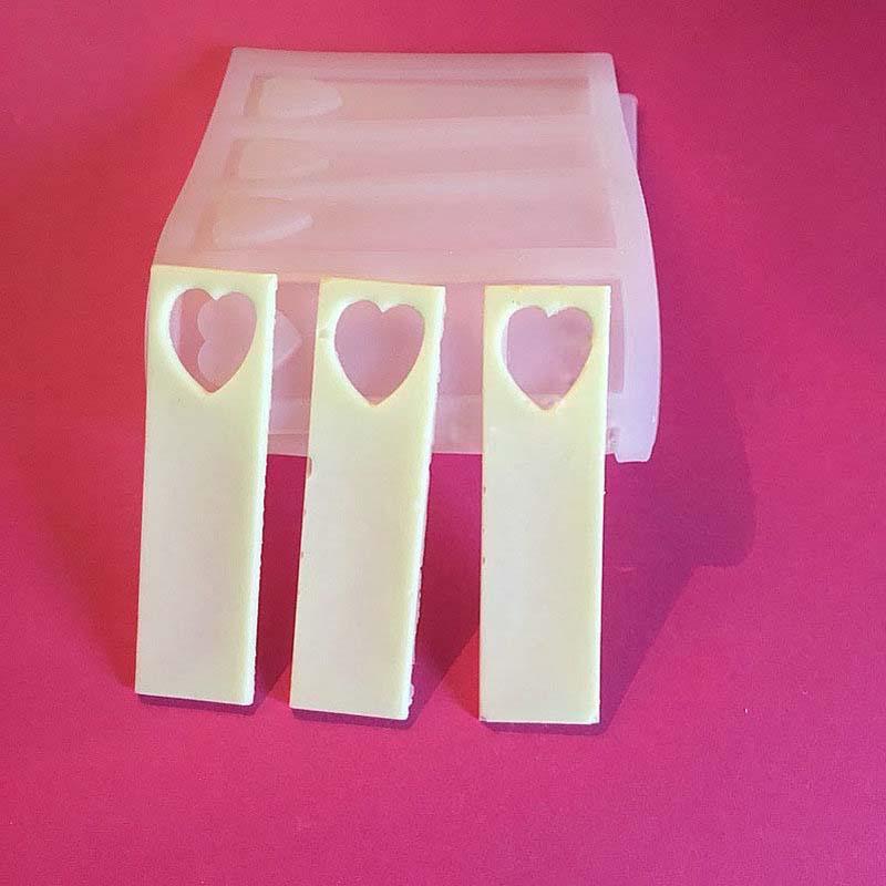 9cm κούφια καρδιά DIY Σιλικόνης Σοκολάτα - Κουζίνα, τραπεζαρία και μπαρ - Φωτογραφία 5