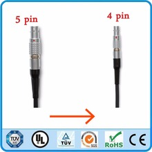 LEMO 5 Pin To 4 Pin Connector Time Code cable for Red Camera