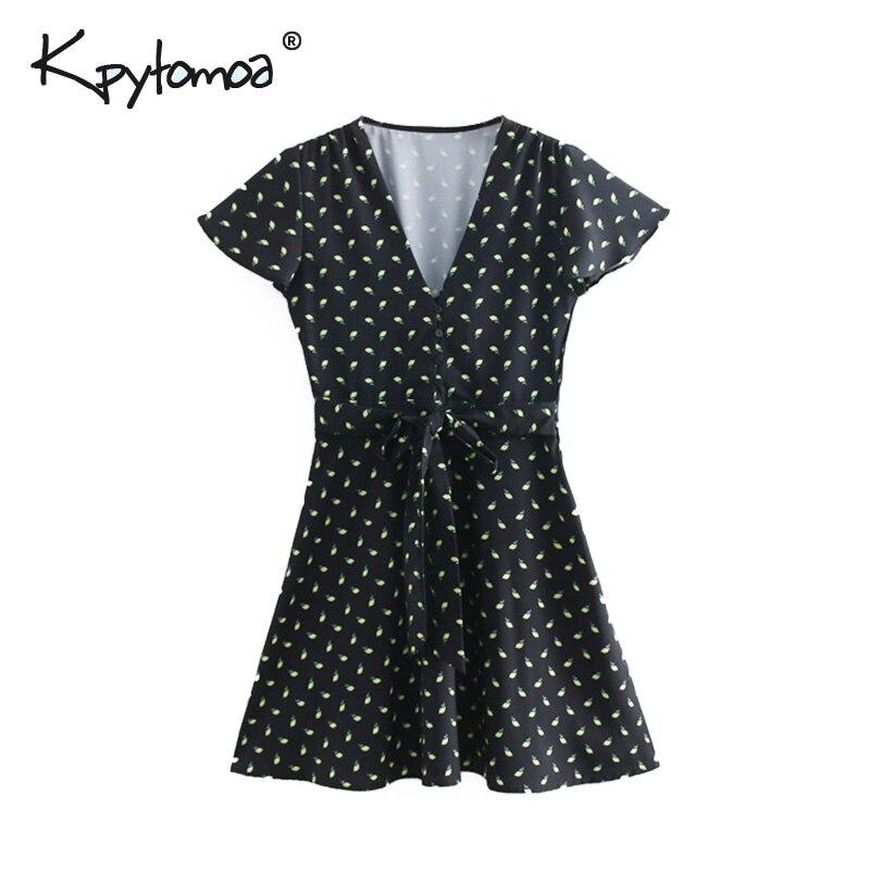 Femirah Womens Vintage Long Sleeve Button Down A-Line Midi Dresss
