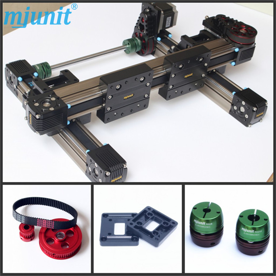High Strength Motorized Linear Stage/Stepping Motor Drive/Servo Drive indoor mobile stage movable stage linear stage