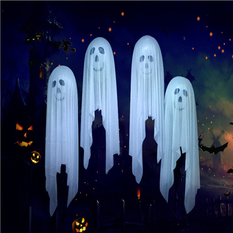 Inflatable Ghost Doll Air Blown Mold Decoration Supplies Halloween Party Decor