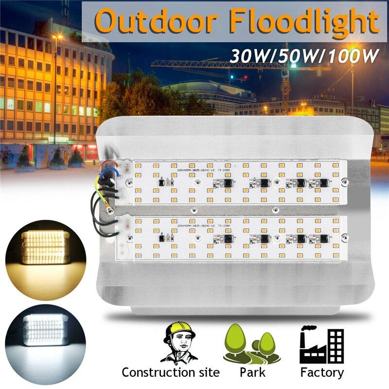 Aluminium Super Helle 50/100 W LED Flutlicht Im Freien Wasserdichte LED Spot Licht Lampe SMD Sicherheit Lichter für park/Büro/Garten