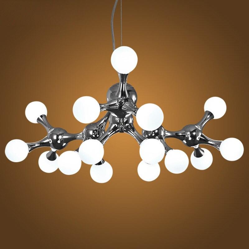 Moderne LED suspendus lumières nouveauté loft lustre plafond Nordique salon suspendu luminaires restaurant pendentif lampe
