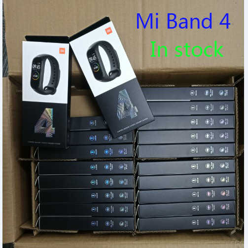 Xiaomi Mi Band 4 Smart Miband 4 Bracelet Heart Rate Fitness 135mAh Color Screen Bluetooth 5.0