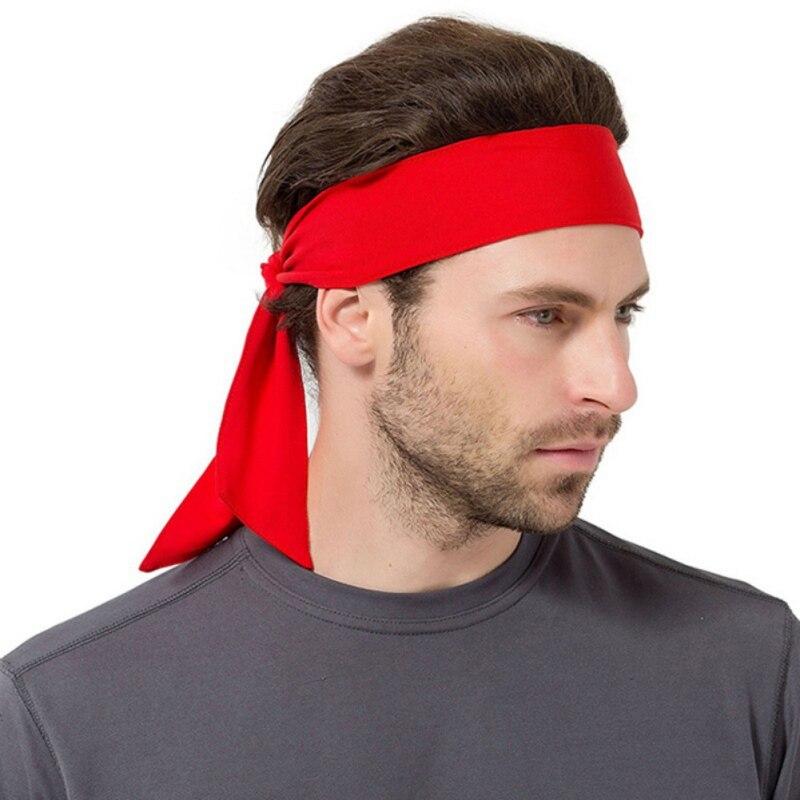 Men /Women Sports Sweat Headband Run Tennis Fitness Pirate Headband Sports Yoga Hair Ribbon Jogging Sports Accessories Sweatband