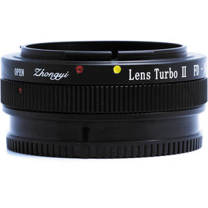 Image 2 - Mitakon Zhongyi Lens Turbo II Focal Reducer Speed Booster Adapter for Canon FD Lens to Sony E Mount Camera NEX A6000 A6300 A6500