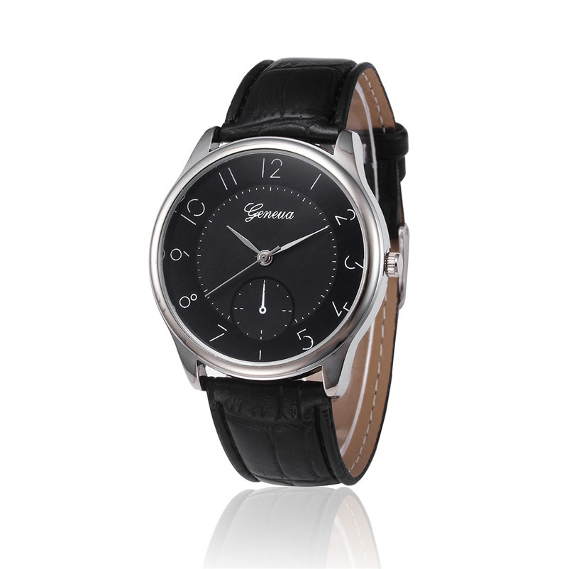 цены  Relogio Masculino  Quartz Watches Men Faux Leather Analog Wristwatch Luxury Men Business Sports Watch New Male Clock Hours
