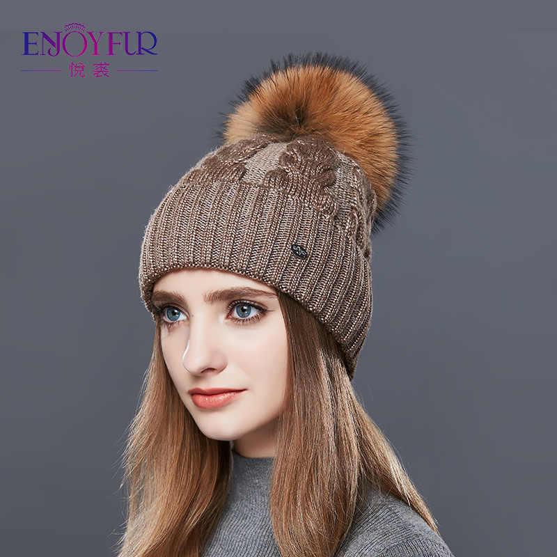 подробнее обратная связь вопросы о Enjoyfur модные зимние шапки