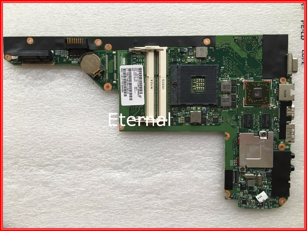 630819-001 for HP Pavillion DV3 laptop motherboard HM55 Non-integrated with ATI graphics DDR3 Tested 45 days warranty for hp cq62 g62 610161 001 laptop motherboard for amd cpu with ati hd5430 ddr3 integrated graphics card