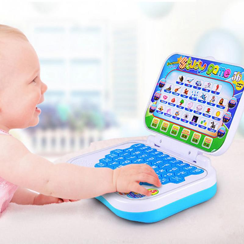 New Baby Kids Pre School Educational Learning Chinese / English Study Toy Laptop Computer Game Develop Intelligence