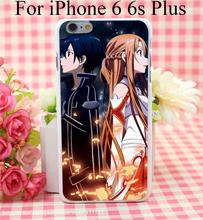 Sword Art Online SAO Anime Manga Phone Case iPhone 4 4s 5 5s 5c 6 6s