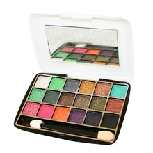 18 Colors Eye Makeup Eyeshadow Palette Cosmetics Makeup Palette Diamond Bright Glitter Eye Shadow EE5 G11 H22 V2