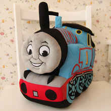 Candice guo plush toy stuffed doll cute mini cartoon anime soft Thomas train locomotive children birthday gift christmas present
