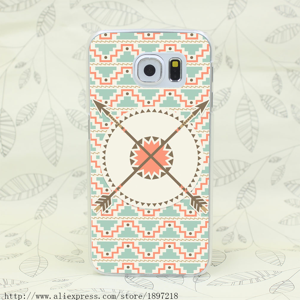 3495 T Native American Nahtlose Hard Cover Fall für Galaxy S2 S3...