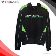 KODASKIN Men Cotton Round Neck Casual Printing Sweater Sweatershirt Hoodies for ZX-10R 1000 zx-10r