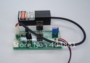 10mW 405nm violet blue laser module with power supply