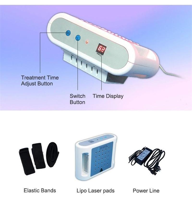 2018 Newest Mitsubishi Lipo Laser Dual Wavelength 650nm Lipo Laser Slimming Machine Home Use High Quality Mini Lipo Laser Weight Loss Device (49)3
